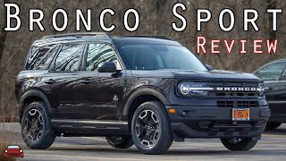 2021 Ford Bronco Sport Outer Banks Review - Right At Home!