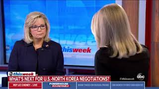 Rep. Cheney Joins 'This Week' with Martha Raddatz