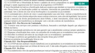 LOTTONET NO DIÁRIO OFICIAL DA PARAÍBA