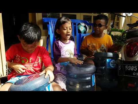 Javanese  traditional song, Jaranan and Gambang Suling