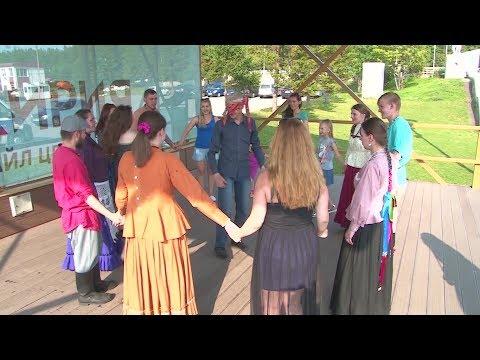 Хороводами и жмурками отметили своё пятилетие участники клуба «Уфимская вечерка»