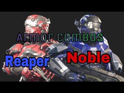 Nu Halo 5 Armour Combinations By Nerdz United