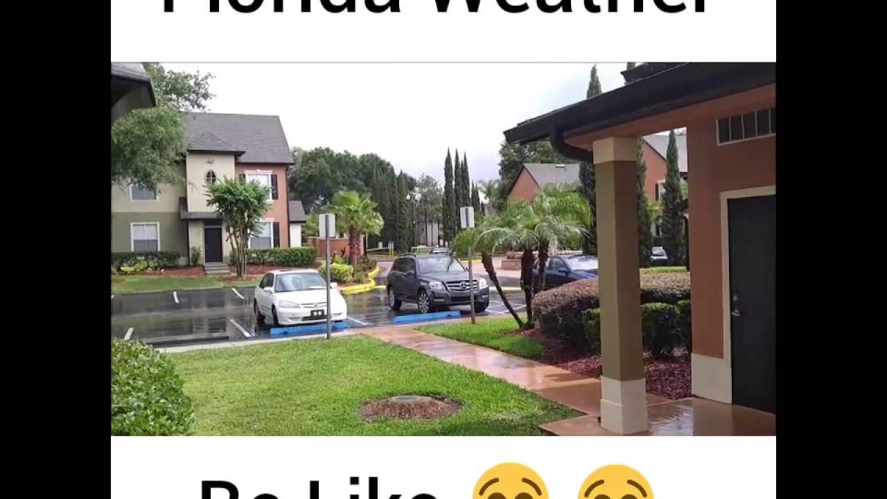 florida weather be like youtube