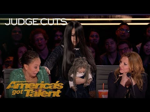 The Sacred Riana Summons A Terrifying Imaginary Friend - America's Got Talent 2018