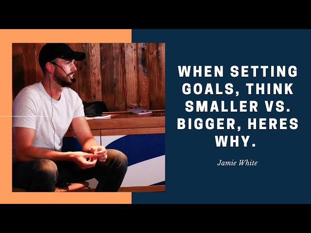 Creating the Momentum of Achievement with Setting Small Goals.