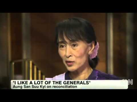 Aung San Suu Kyi    Interview with Christiane Amanpour, New York, New York, Friday, September 21, 2012