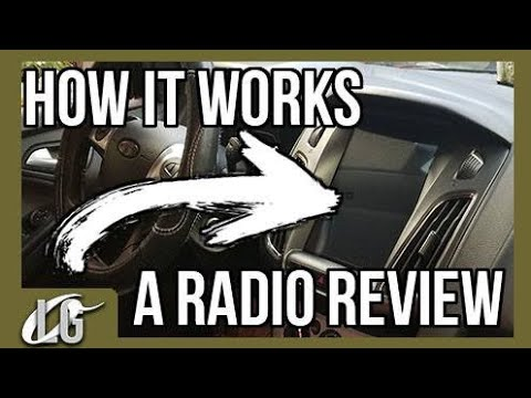 Focus Tesla Style 10.4 Android Vertical Radio How-to Review