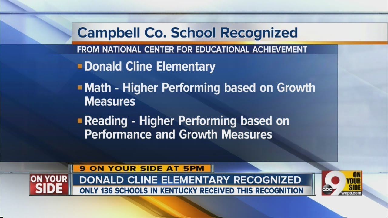 Campbell County school recognized