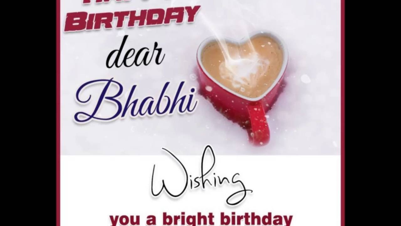 Birthday Wishes For Bhabi