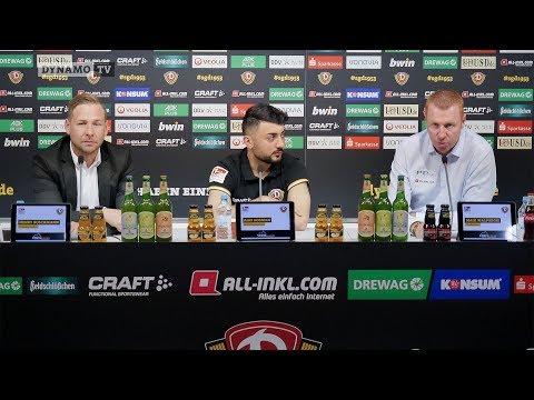 13. Spieltag | KOE - SGD | Pressekonferenz vor dem Spiel