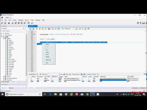 MySql 36 | String Concatenation In MySQL