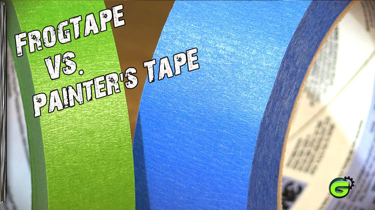 frogtape comparison - youtube