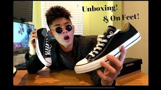 Converse Chuck Taylor All Star Unboxing & On Feet!