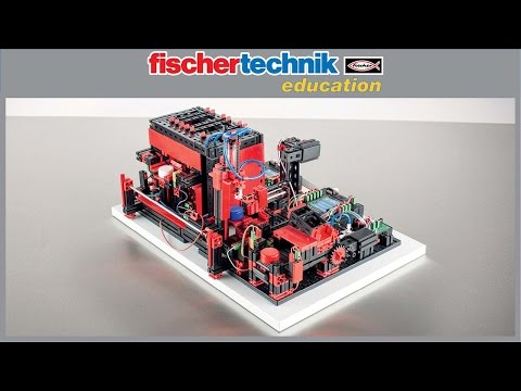 fischertechnik Multi Processing Station With Oven -536627- product video