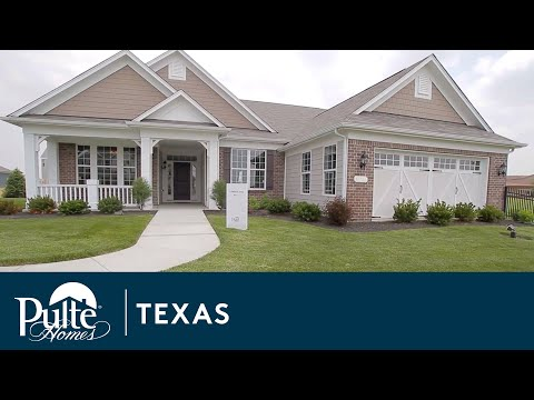 New Homes in Texas by Pulte Homes - Grantham Floorplan
