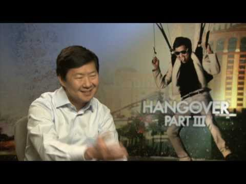 "Ken Jeong ""Mr. Chow"" Apologizes for ""his size"". - The Hangover part 3 (full interview)"