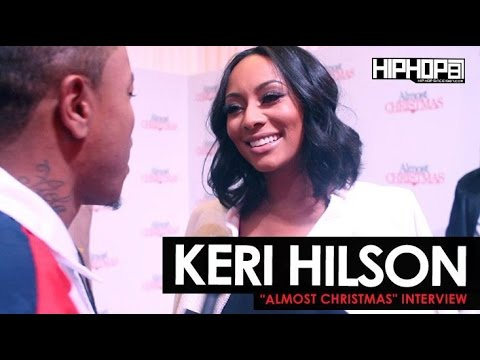 Almost Christmas Actor Omar.Keri Hilson Talks Her Character Jasmine In Almost