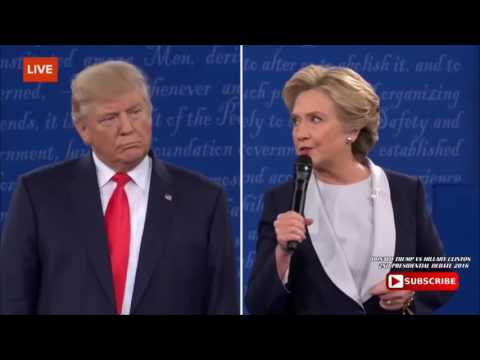mlg Trump roasts Hillary clinton