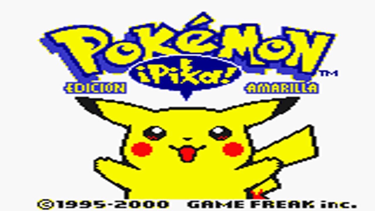Descargar Pokemon Amarillo Version En Español Introduccion Youtube