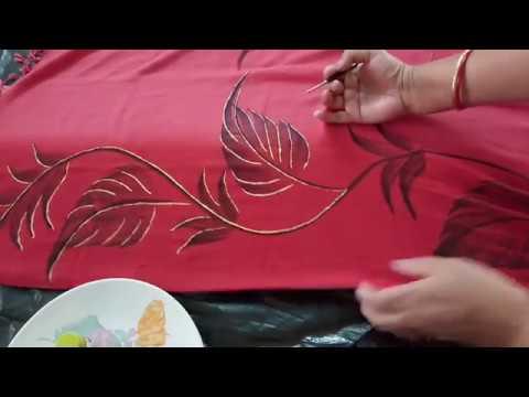 DIY 3 Design ur stole dupatta or scarf