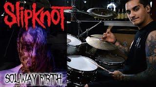 """Drummer DESTROYS """" Solway Firth"""" Slipknot Drum Cover"""