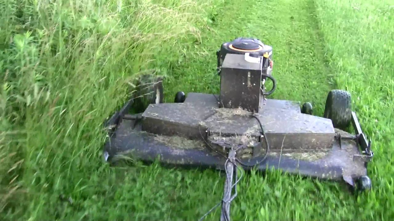 Atv Lawn Mower 5mph Youtube