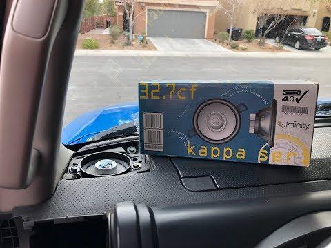 FJ Cruiser Dash Speaker Install DIY!!