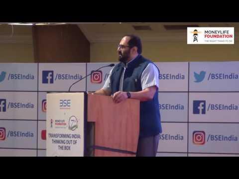 MP Rajeev Chandrasekhar at Moneylife Foundation 7th Anniversary Event