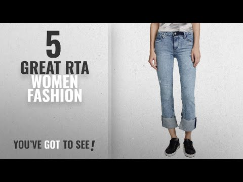 Rta Women Fashion [2018 Best Sellers]: RtA Women's Duchess Jeans, Desert Blue, 28