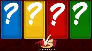 Commander VS S10E6: ??? vs ??? vs ??? vs ???