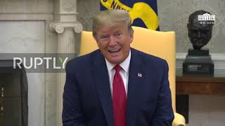 USA: 'We'd certainly like to avoid' war with Iran - Trump on Saudi oil attacks