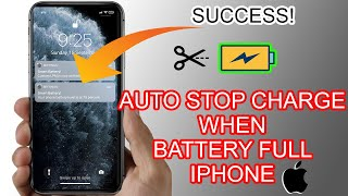 How to Stop Charging iPhone When Battery Full - Auto Disconnect Charge screenshot 3