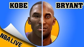 KOBE BRYANT evolution [NBA LIVE 97 - NBA LIVE 16] 🏀