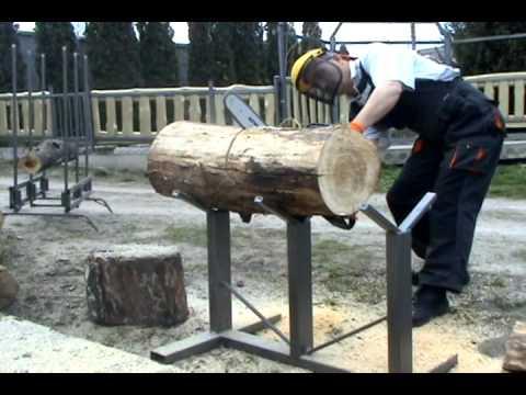 Козлы для распиловки дров.