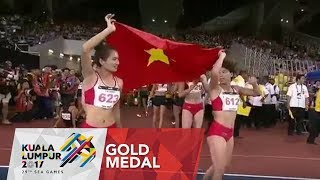 Athletics Women's 4 x 400m Final | 29th SEA Games 2017