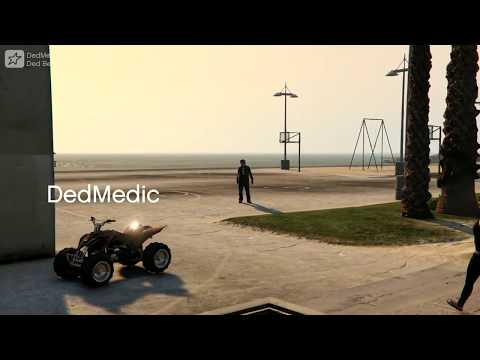 GTA V - Ded Goes To Muscle Beach