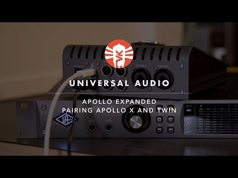 Universal Audio Apollo x6 16x22 Thunderbolt 3 Recording Interface