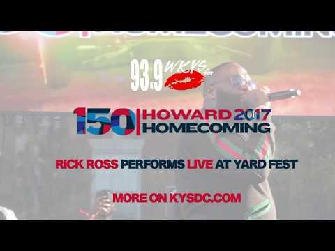 Rick Ross Live At The 2017 Howard University Homecoming