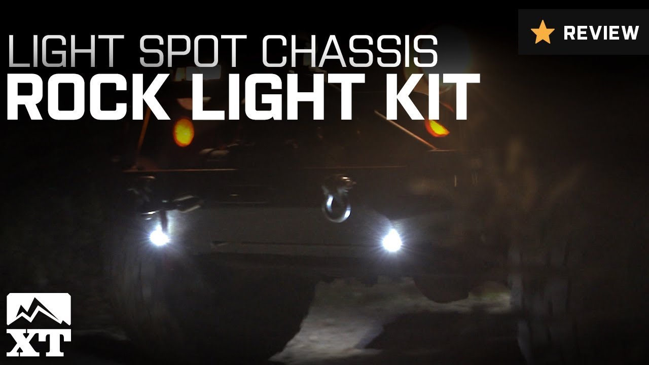 how to install your off road only lite spot chassis rock lights kit on your 1987 2015 wrangler yj t extremeterrain [ 1280 x 720 Pixel ]