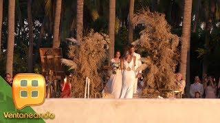 ¡EXCLUSIVA! Grettel Valdez celebró su boda, pero algo pasó que ¡por poco no se casa!