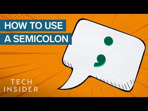 How To Use A Semicolon Correctly