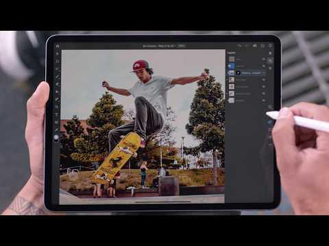 Adobe Photoshop on iPad - Quick demo