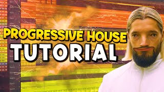 How To Make A Progręssive House Track From Scratch! | FL Studio 20 Tutorial | FREE FLP