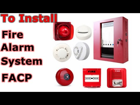 How To Install A Fire Alarm System FACP ?