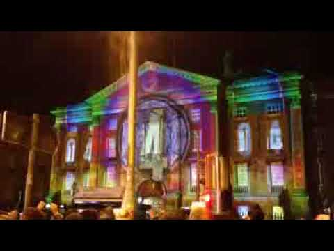 Dublin New Year's Eve Countdown And Fireworks 2018 HD
