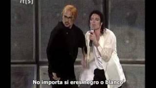 Michael Jackson - Black or white Live Munich (Subtitulado español)