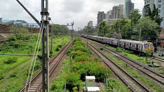 Mumbai local train Matunga Station cinematic videos Mumbai Max.