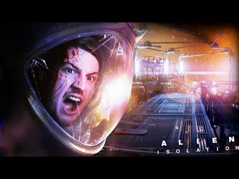 THINGS GET CRAZY.. REAL CRAZY!! || Alien Isolation (Part 12)