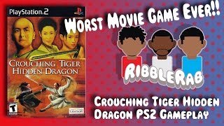 Worst Movie Game: Crouching Tiger Hidden Dragon -PS2 Gameplay  Ribblerab
