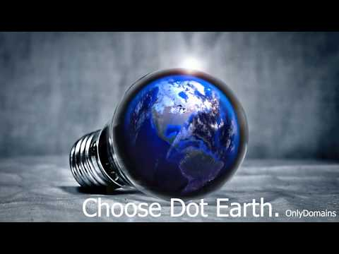 Dot Earth Domains Names - It's Your Planet.